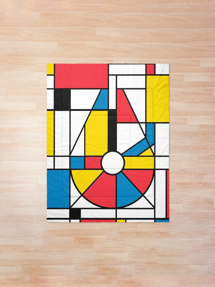 Alternate view of Mondrian Falcon Comforter