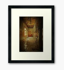 Lazy Boy Elementary Framed Print