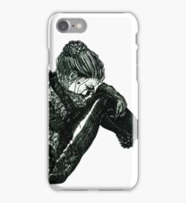 Vigilant [Pen Drawn Figure Illustration] iPhone Case/Skin