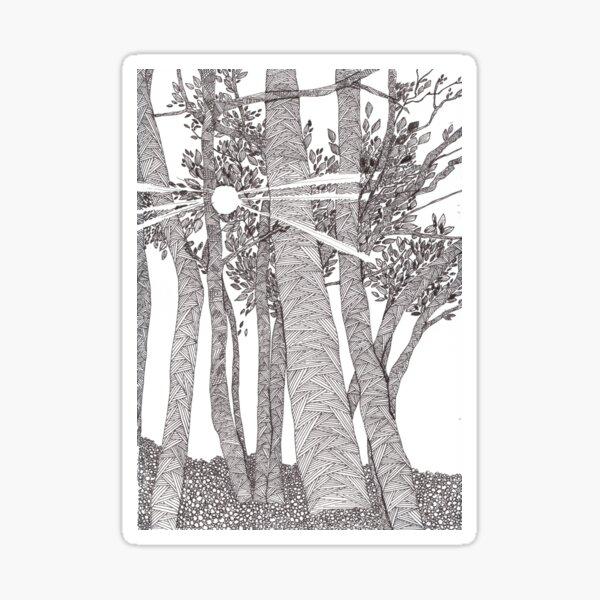 A summer day - faith and truth Sticker