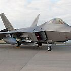 F-22 Raptor by Bairdzpics