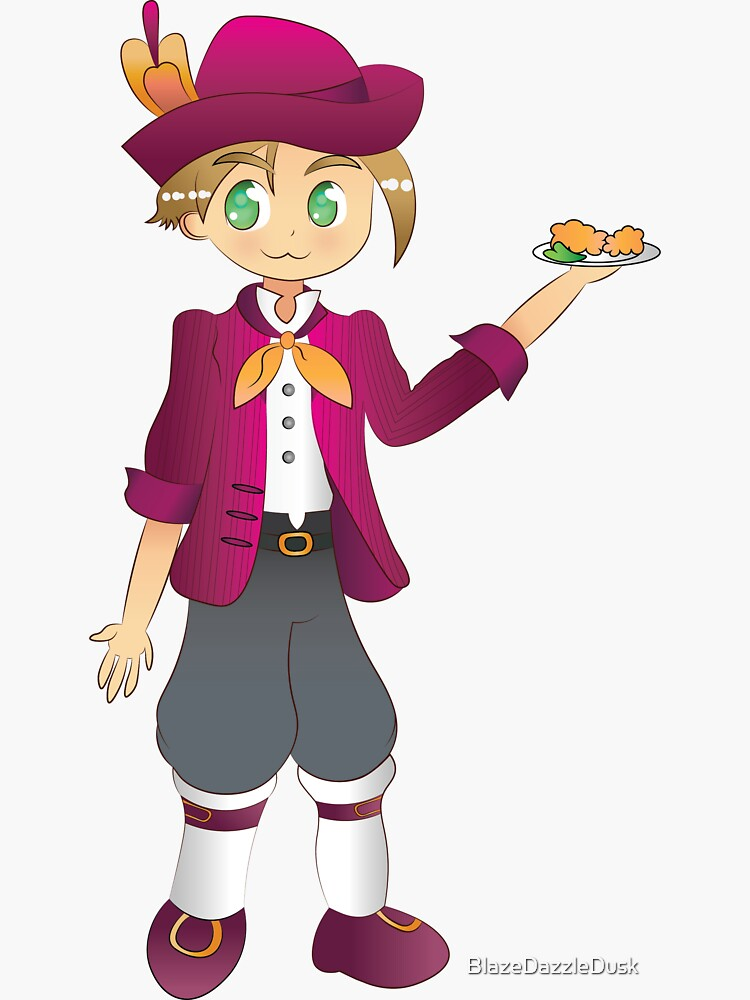 Harvest Moon Dirk by BlazeDazzleDusk