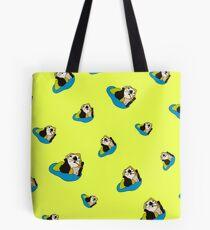 Sea Otter Pup - Kelp Me Out Tote Bag