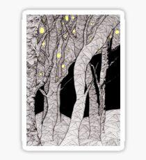 Nachtwald Sticker