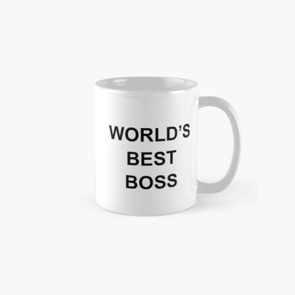 Worlds Best Boss Classic Mug