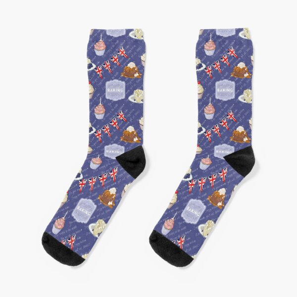 British Bake Show Socks