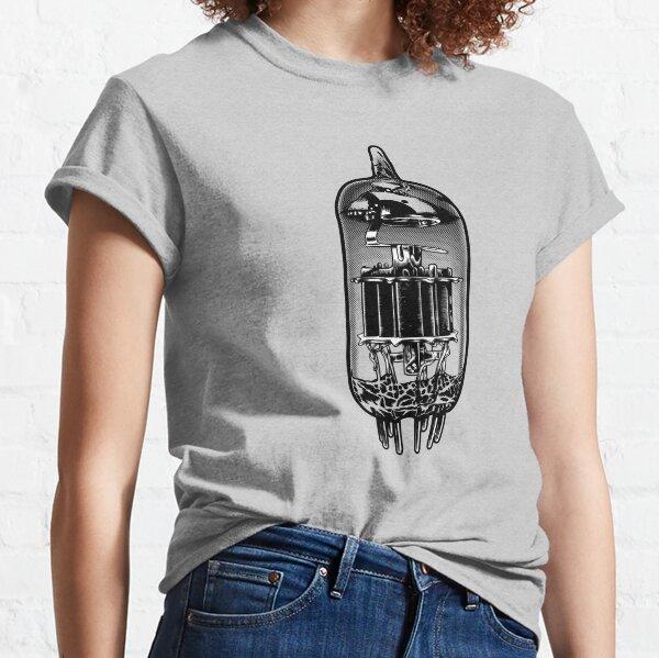 Vacuum Tube, Valve Amp Illustration Classic T-Shirt