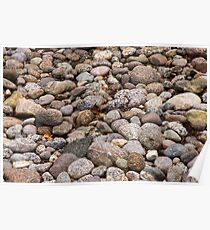 Milford sound Stones Poster