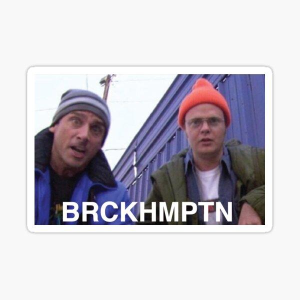 Brockhampton x The Office Sticker