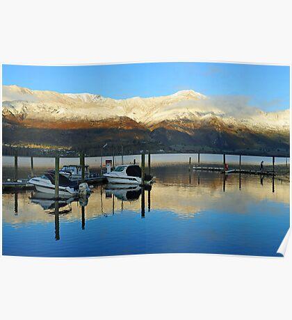 Sunrise at Wanaka . South Island, New Zealand.  Poster