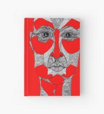 Gesicht, Mann, Maske - Glaube und Wahrheit Notizbuch