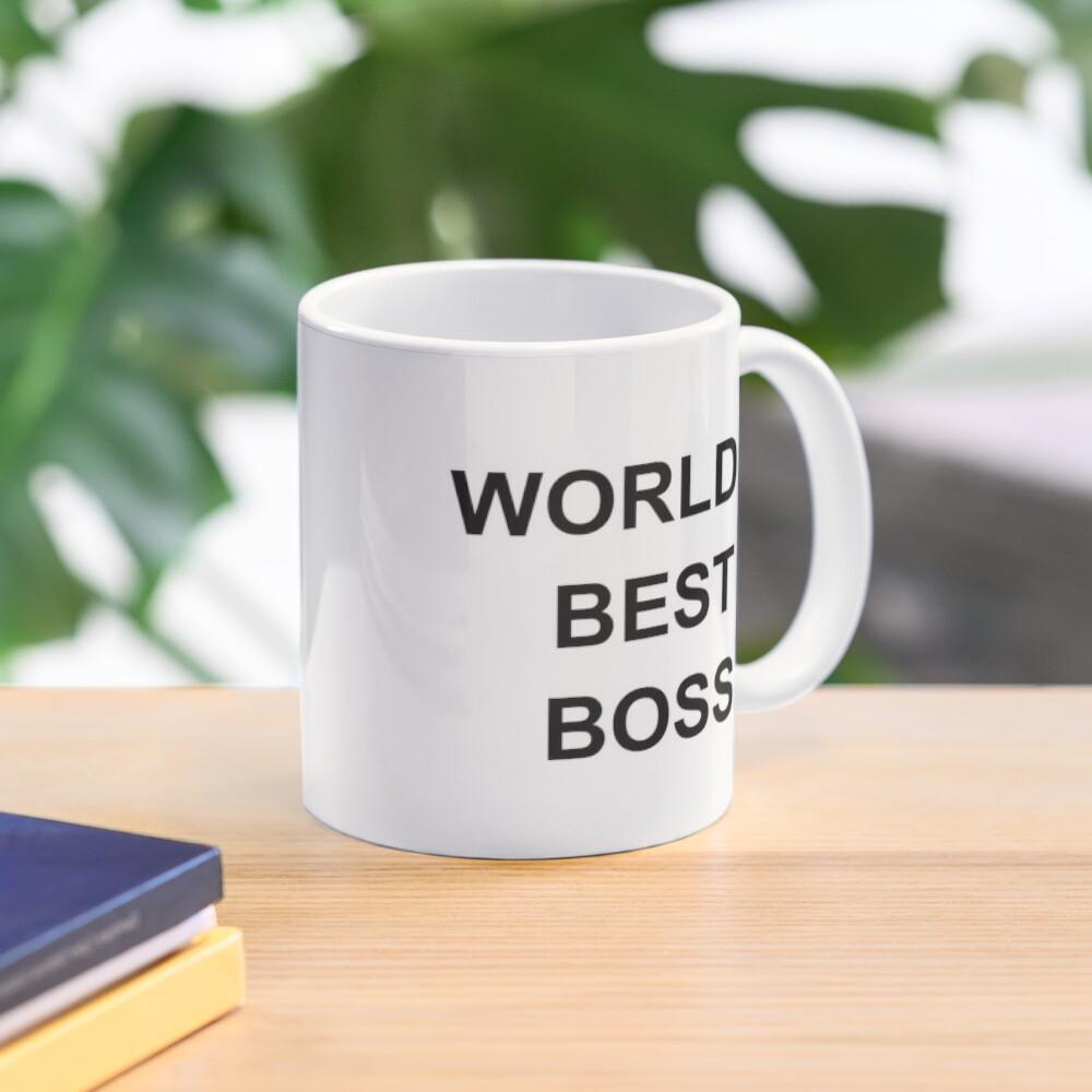 Worlds Best Boss The Office Dunder Mifflin Mug