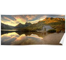 Cradle Mountain Boat Shed Poster