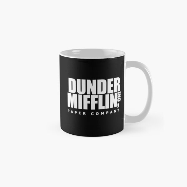 Dunder Mifflin The Office Paper Company Classic Mug