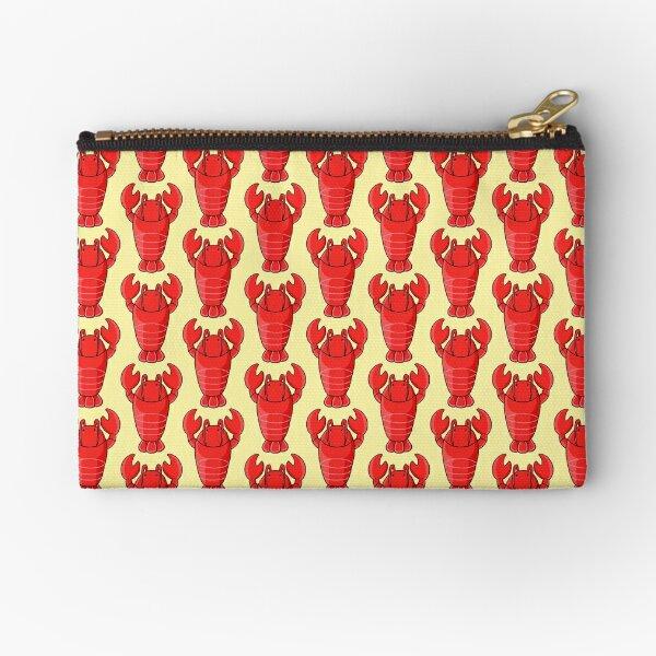 Kawaii lobster Zipper Pouch
