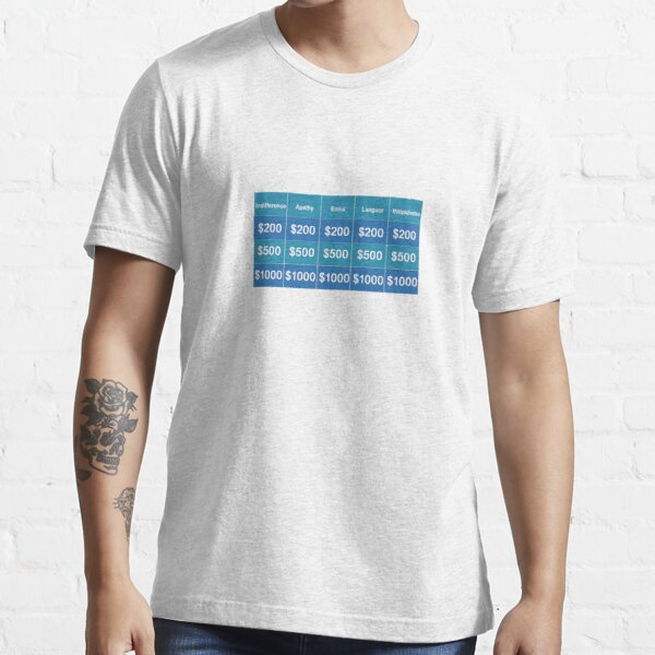 Jeopardy Essential T-Shirt