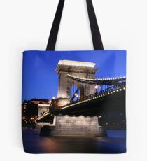 Chain Bridge Budapest Tote Bag