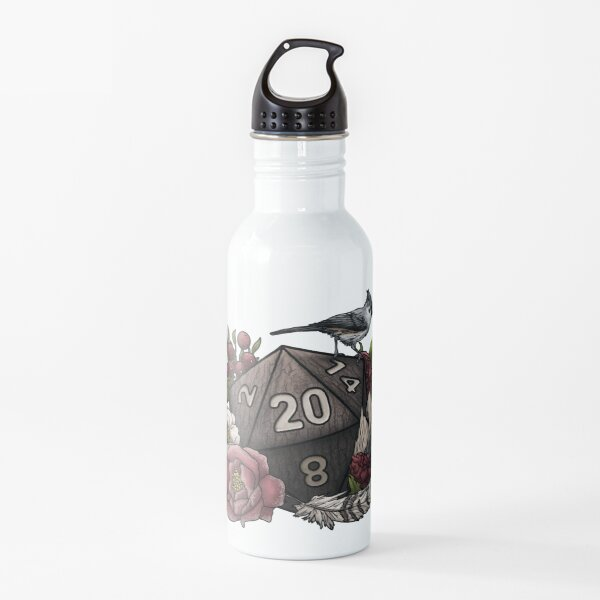 Druid Class D20 - Tabletop Gaming Dice Water Bottle