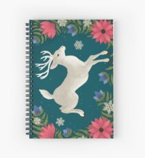 Winter's eve Spiral Notebook