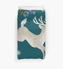 Winter's eve Duvet Cover