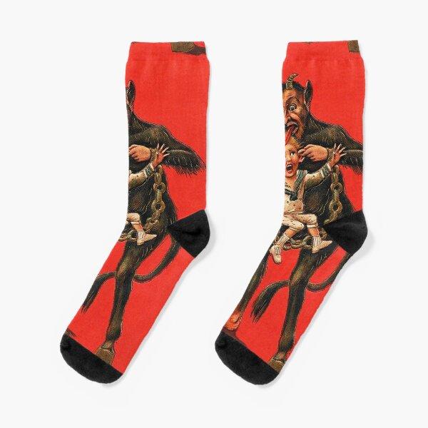 KRAMPUS WATCH OUT! Socks