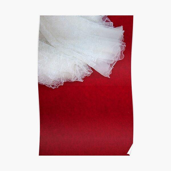 Wedding Dress Detail - Tres Poster