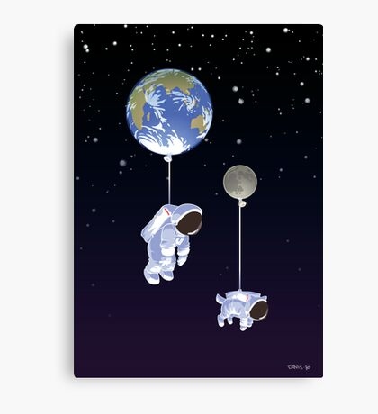 Spaceboy Canvas Print