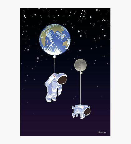 Spaceboy Photographic Print