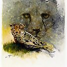 Africa - Cheetah Veldt by Tanya Zaadstra