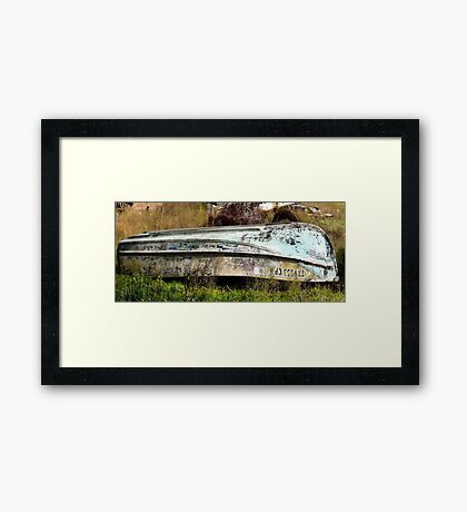 A Fishermans Boat Framed Print