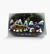 The Tiny Musicians - Happy Birthday Greeting Card