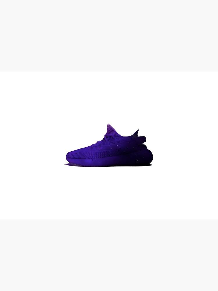 Purple galaxy yeezy\