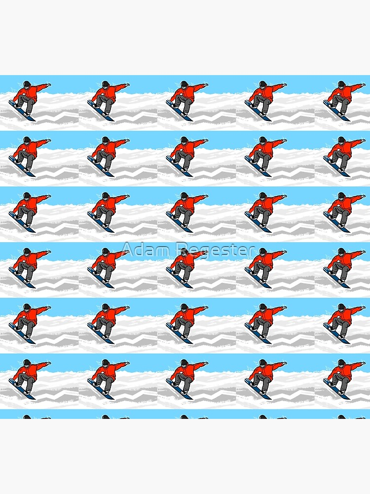 Snowboarding by AdamRegester