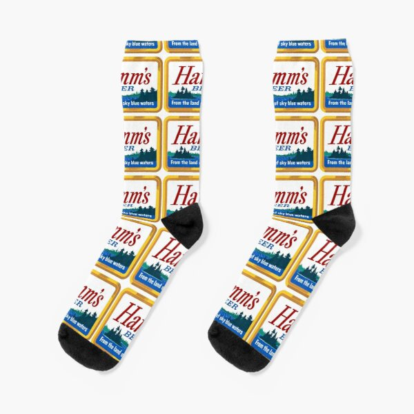 Sailing Boat Anchor Indigo Watercolor Crazy Socks Casual Cotton Crew Socks Cute Funny Sock great for sports and hiking