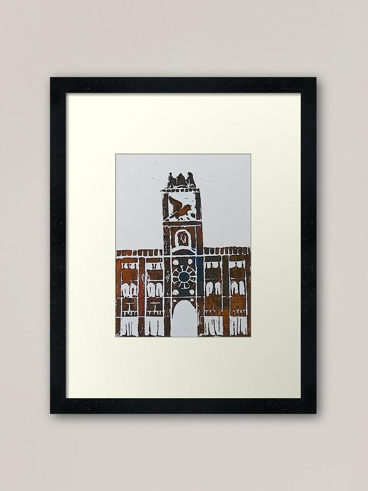 Alternate view of Clock Tower - Venice, Italy Framed Art Print