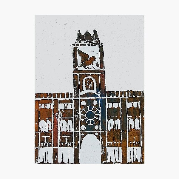 Clock Tower - Venice, Italy Photographic Print
