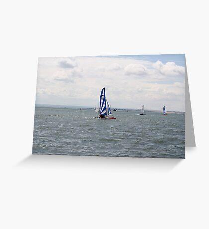 sailing bye Greeting Card