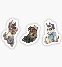 Grand Theft Auto V Pups Sticker