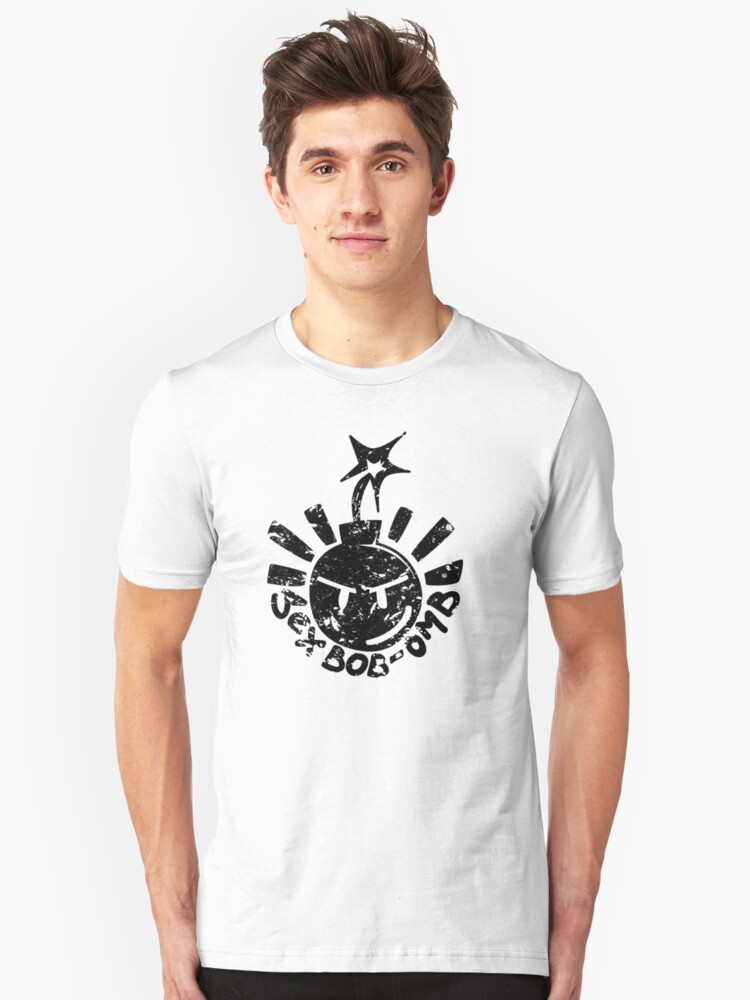 Alternate view of Sex Bob-omb - Wrecked Slim Fit T-Shirt