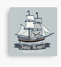 The Jolly Roger Canvas Print