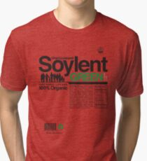 Contents: Unprocessed Soylent Green Tri-blend T-Shirt