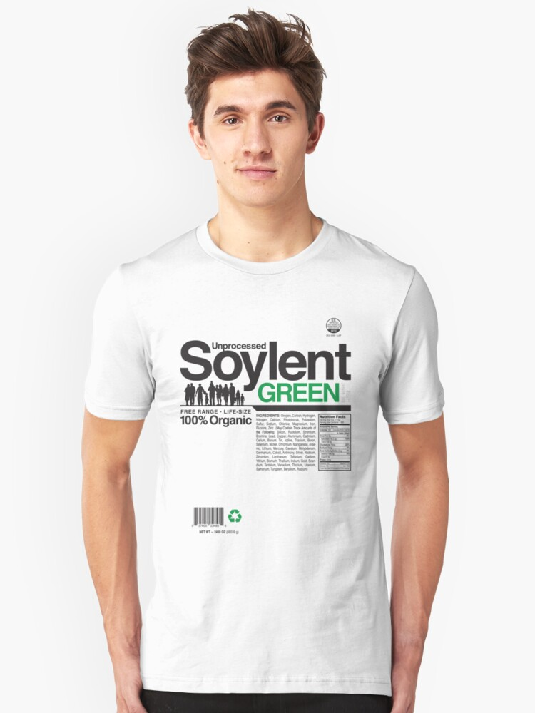 Contents: Unprocessed Soylent Green by Captain RibMan
