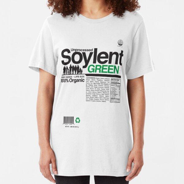 Contents: Unprocessed Soylent Green Slim Fit T-Shirt