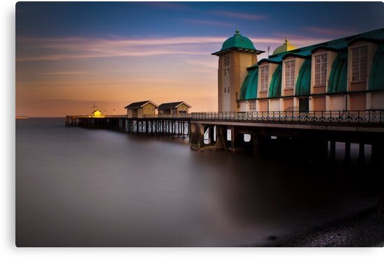 Penarth Pier by Clive  Rees