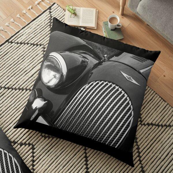 Morgan Sports Car Front Detail Floor Pillow