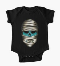 Mummy Halloween One Piece - Short Sleeve