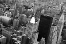 New York City view from the Empire State Building by EblePhilippe