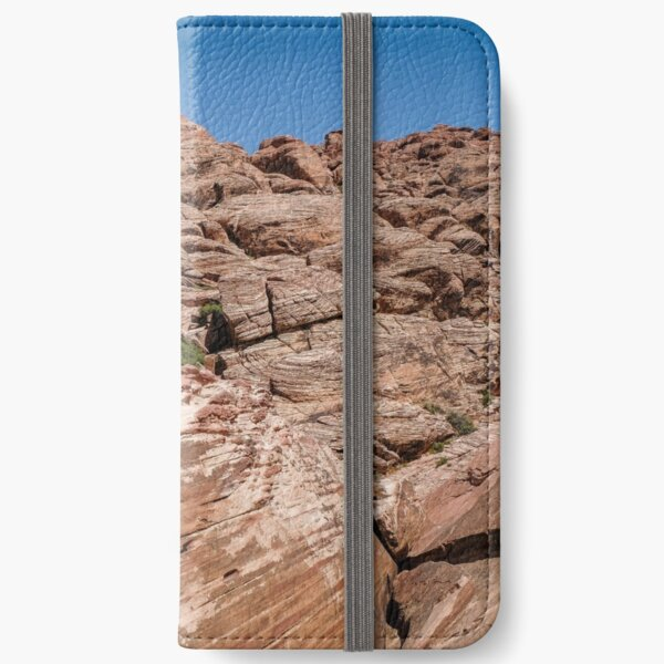 Incredible mountains of Red Rock Canyon - national conservation area iPhone Wallet