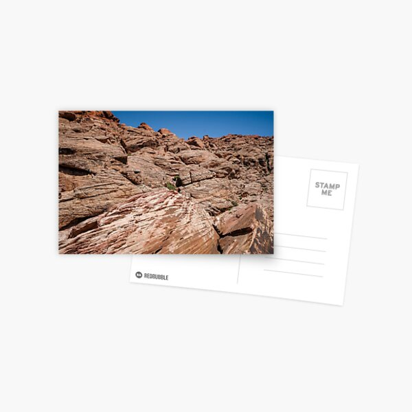Incredible mountains of Red Rock Canyon - national conservation area Postcard