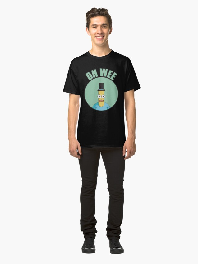 Alternate view of Mr Poopybutthole Oh Wee Classic T-Shirt
